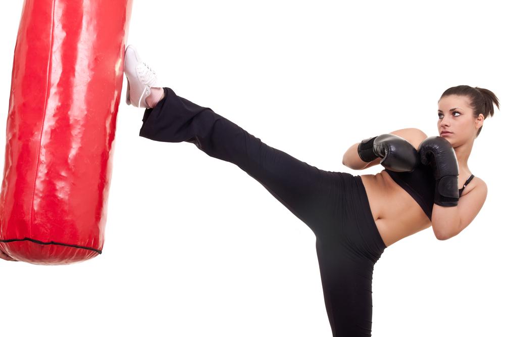 Kick boxing para mujeres: beneficios
